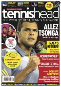 tennishead 2013 issue 1 cover