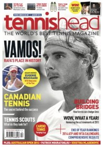 tennishead 2013 issue 6 cover