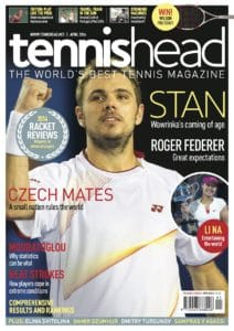 tennishead 2014 issue 1 cover