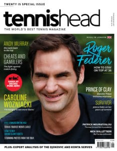 tennishead 2018 issue 1 cover