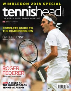 tennishead 2018 issue 2 cover