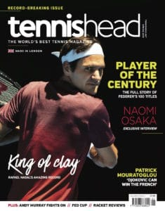 tennishead 2019 issue 1 cover