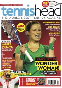 tennishead magazine 2011 issue 1 front cover