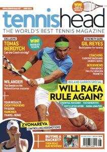 tennishead magazine 2011 issue 2 cover