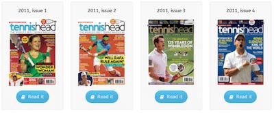 tennishead magazine archive