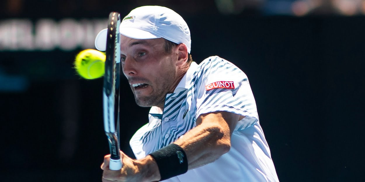Roberto Bautista Agut at the 2019 Australian Open