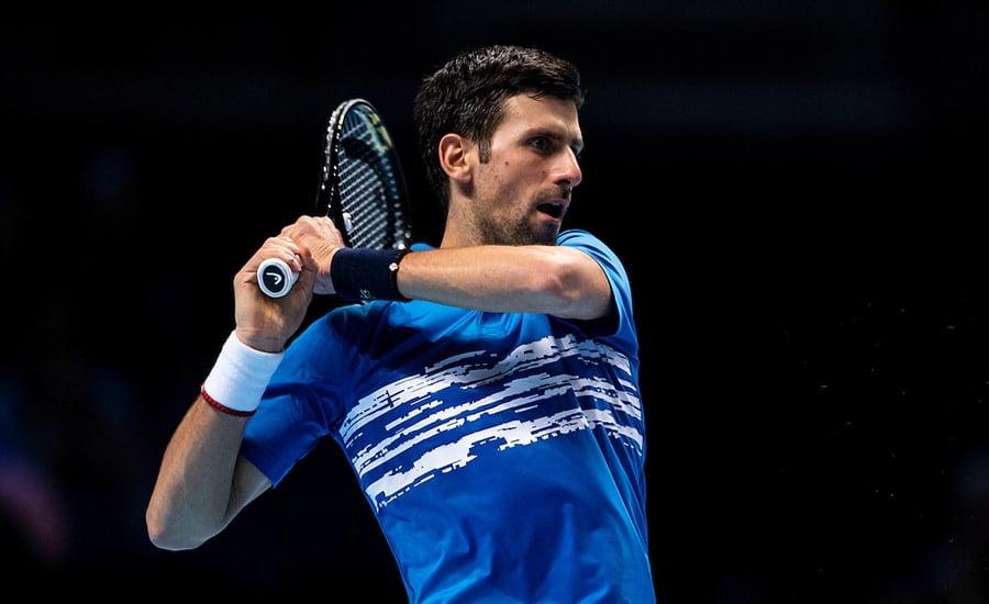 Novak Djokovic backhand ATP Finals