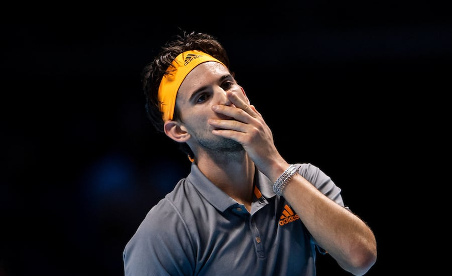 Dominic Thiem upset ATP Finals 2019