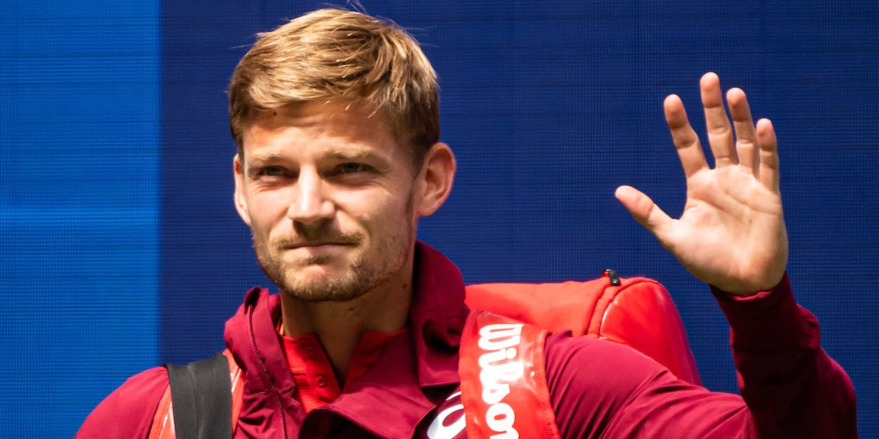 David Goffin at the 2019 US Open