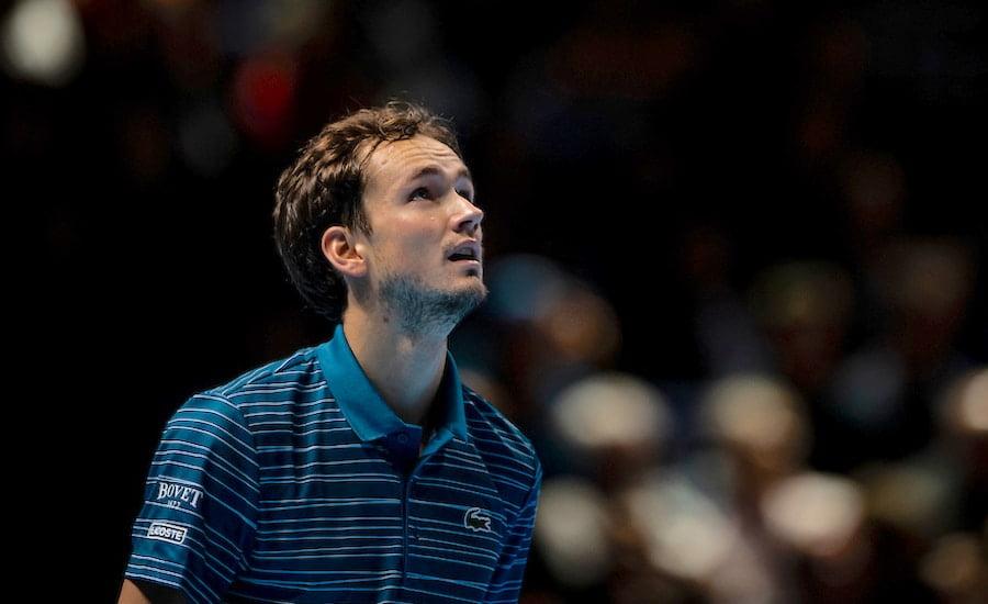 Daniil Medvedev loses at ATP Finals 2019