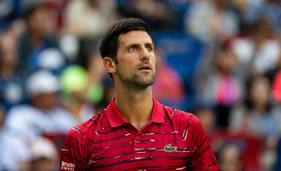 Novak Djokovic Shanghai 2019
