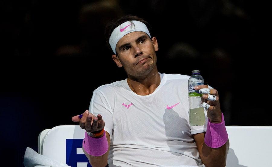 Rafa Nadal loses at ATP Finals 2019