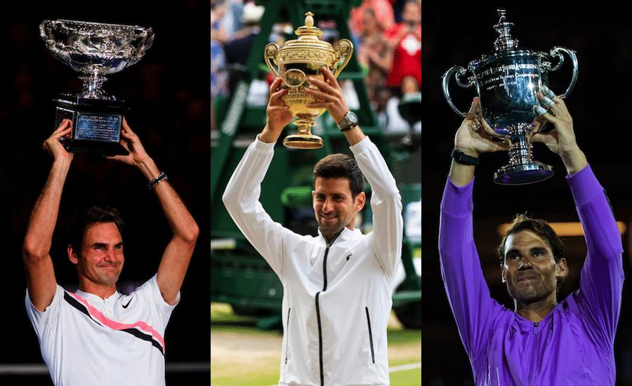 Roger Federer Novak Djokovic Rafa Nadal
