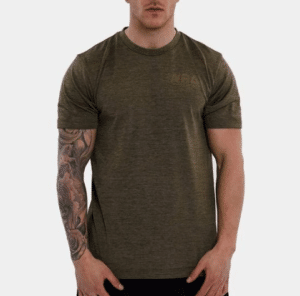 WRA Custom rapid dry khaki t-shirt