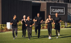 The Campus fitness trainers