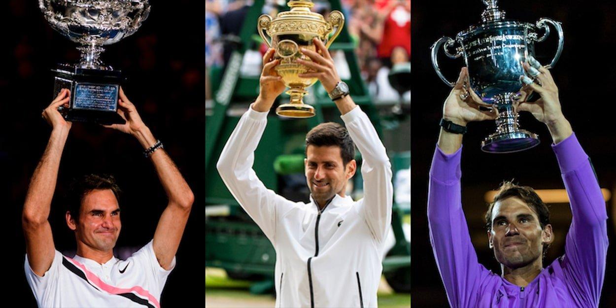 Roger Federer, Novak Djokovic, Rafael Nadal