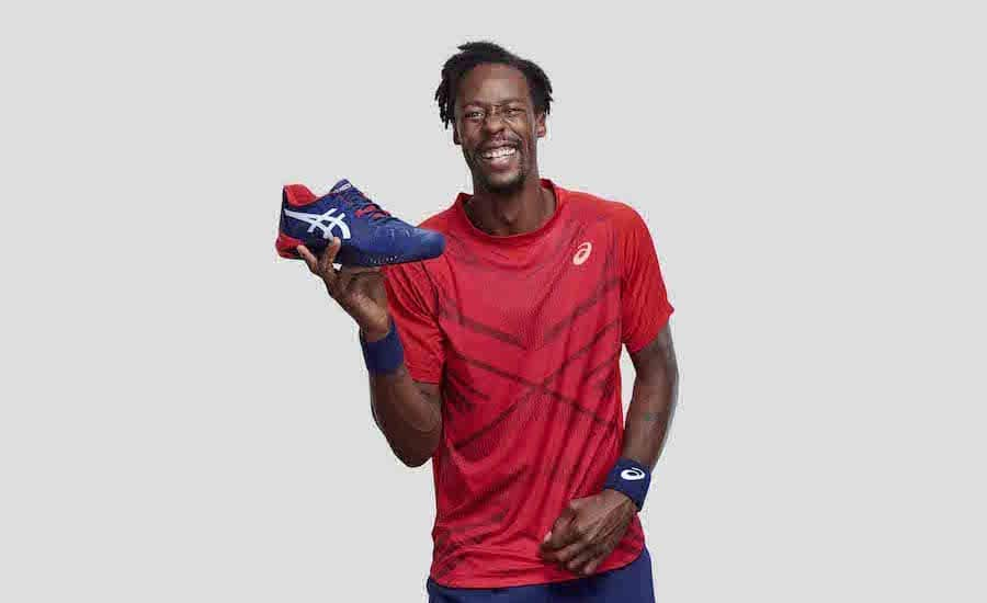 Gael Monfils ASICS GEL-RESOLUTION 8