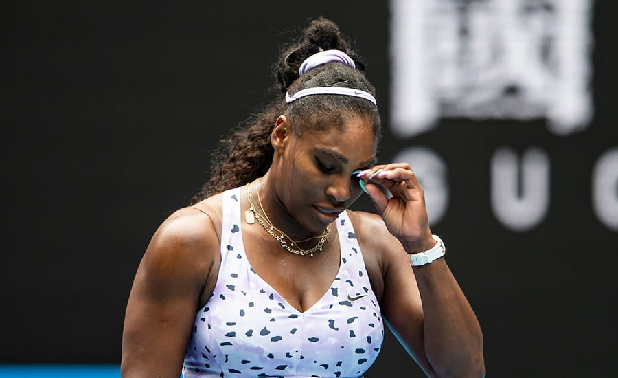 Serena Williams disappointed