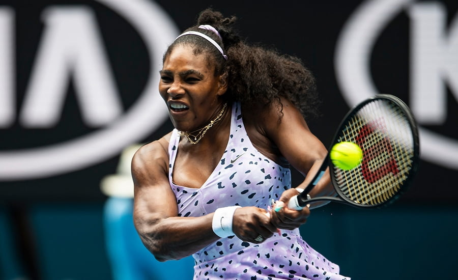 Serena Willians backhand