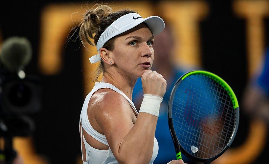 Simona Halep at Australian Open