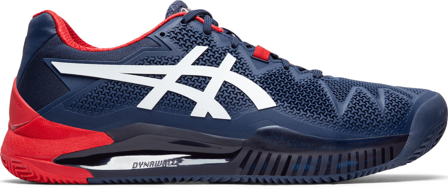 ASICS GEL-RESOLUTION 8 tennis shoes