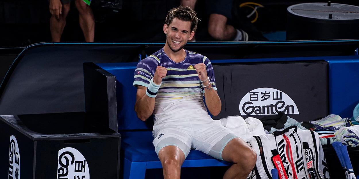 Dominic Thiem wants to beat Rafael Nadal and Novak Djokovic to Grand Slam