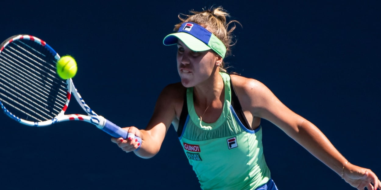 Sofia Kenin at the 2020 Australian Open