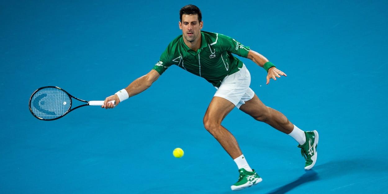 Novak Djokovic Head Speed tennis racket