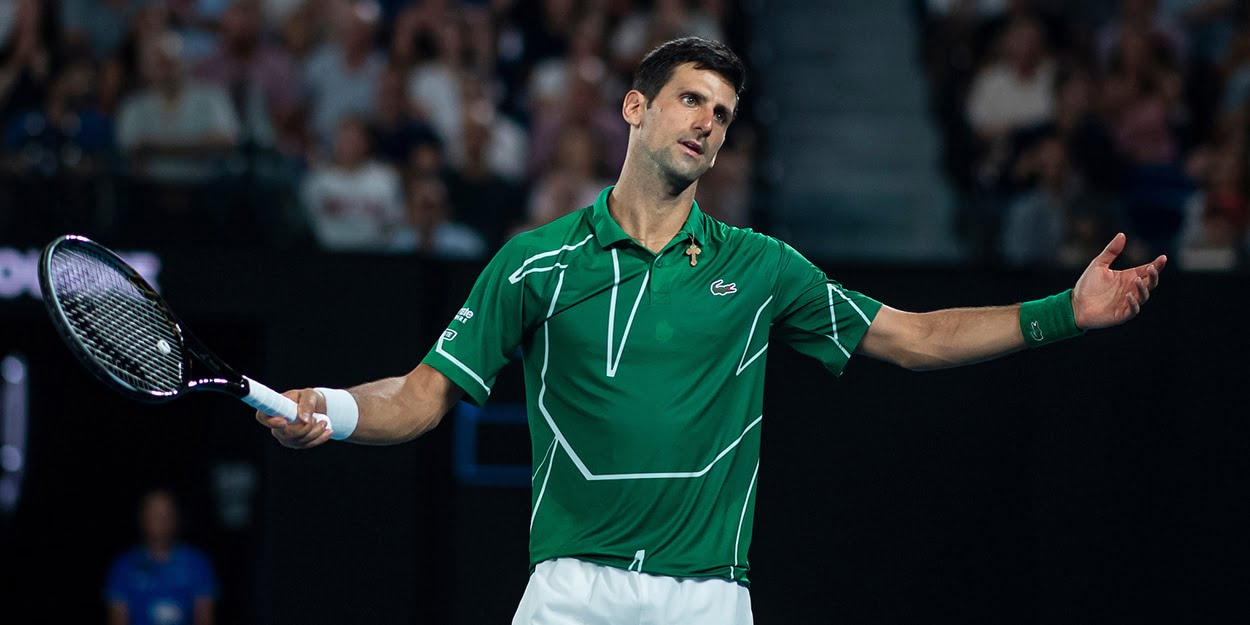 Novak Djokovic appeals