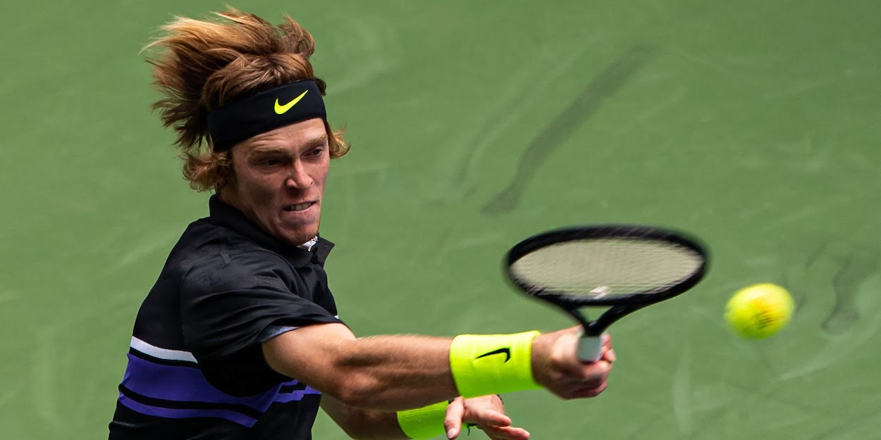 Andrey Rublev at the 2019 US Open