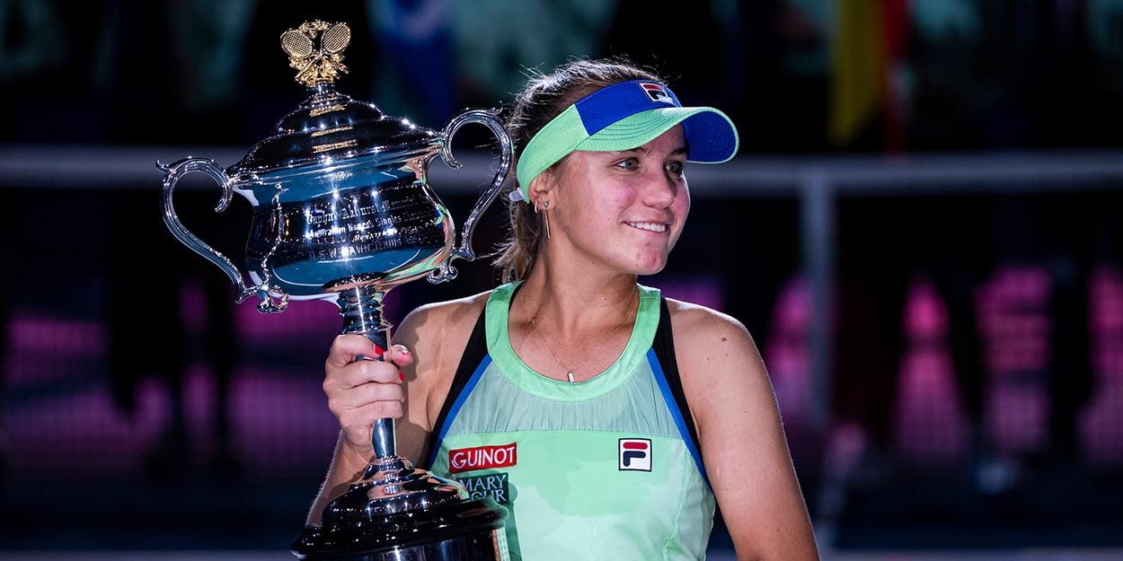 Sofia Kenin into top ten in WTA rankings