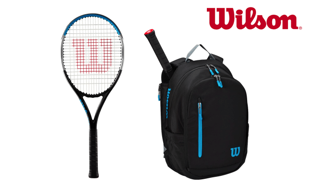 Wilson Ultra and bag competition prize