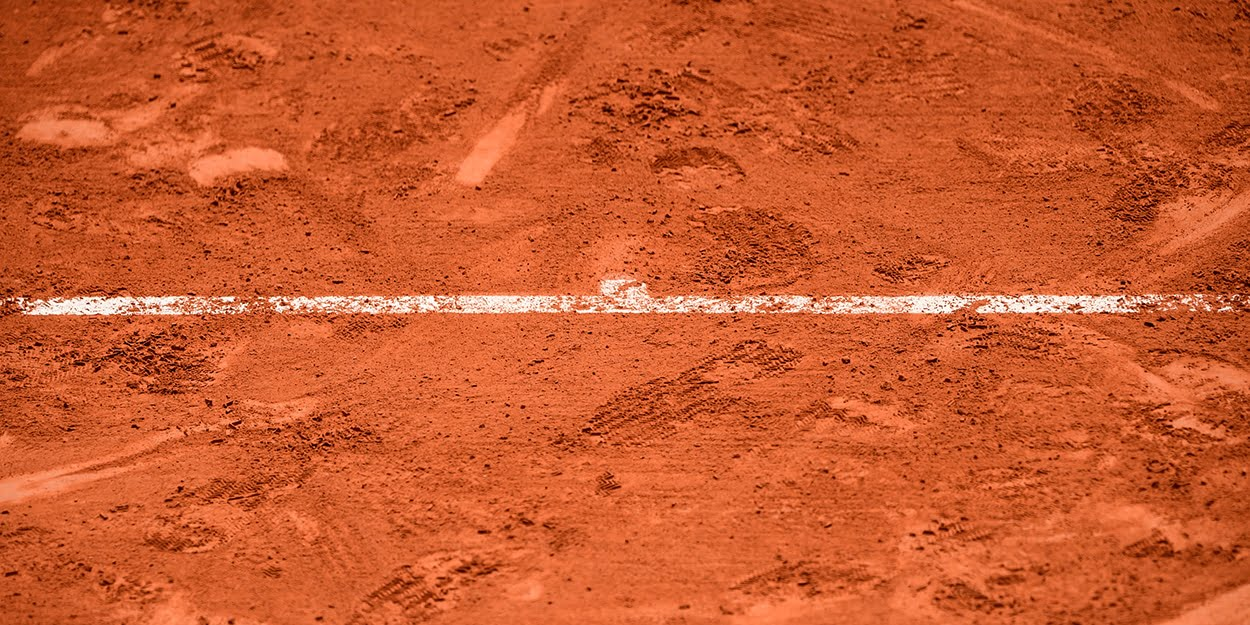 Clay court tennis - planning for coronavirus concerns