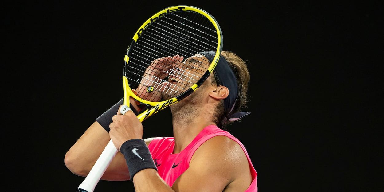 Rafa Nadal tennis strings