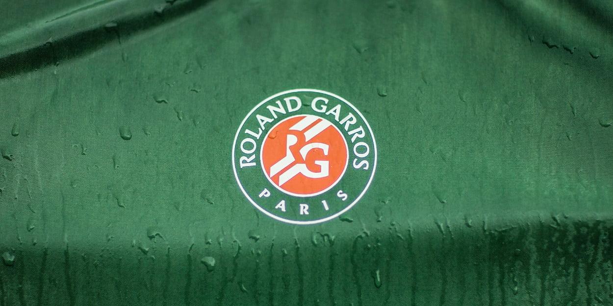 Roland Garros French Open wet