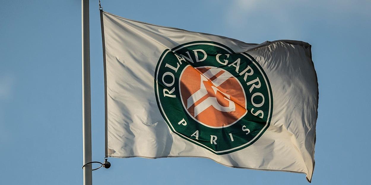 Roland Garros flag
