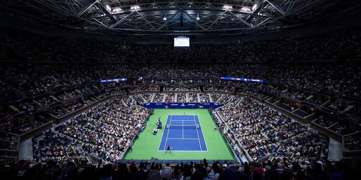 US Open 2019 Arthur Ashe court