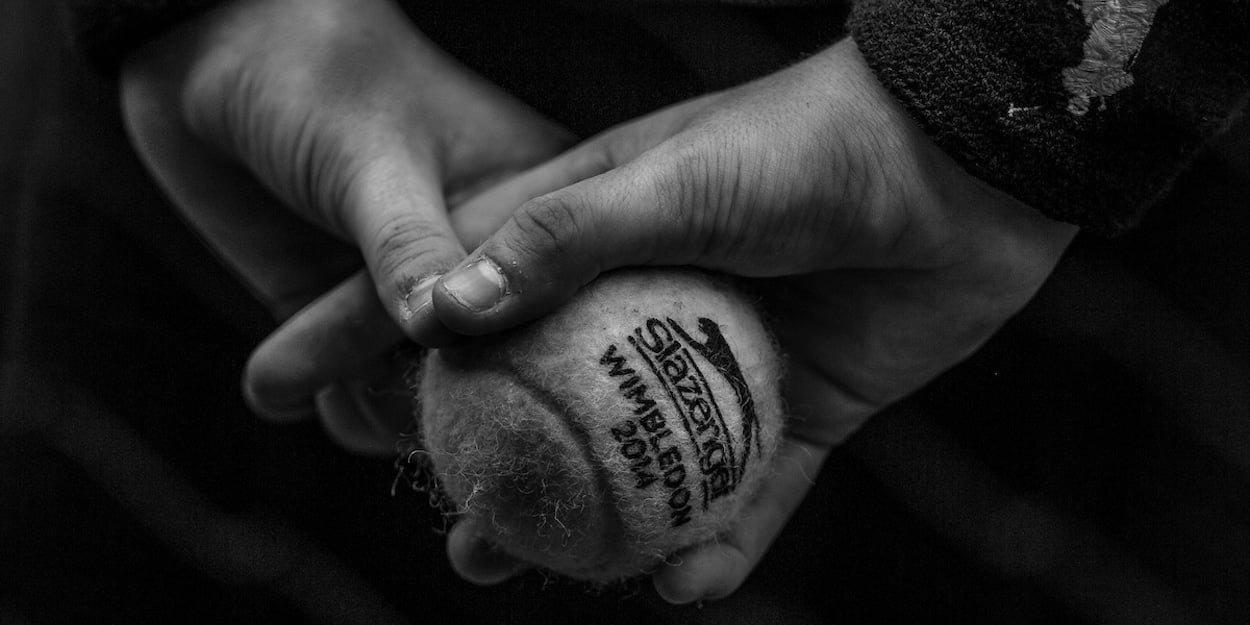 Wimbledon black and white
