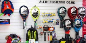 All Things Tennis racket specialists