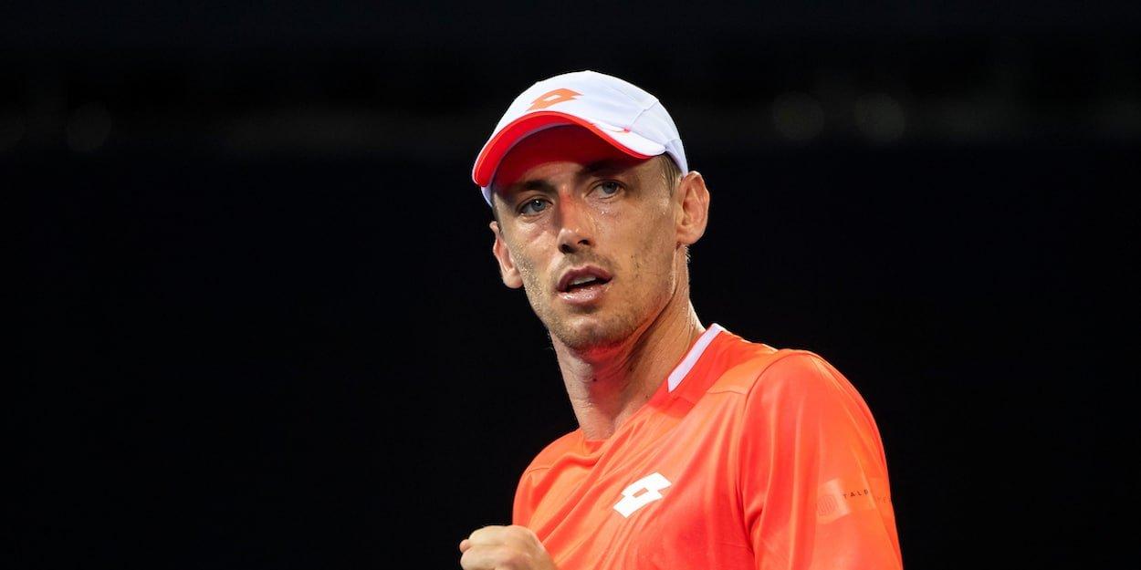 John Millman tennis