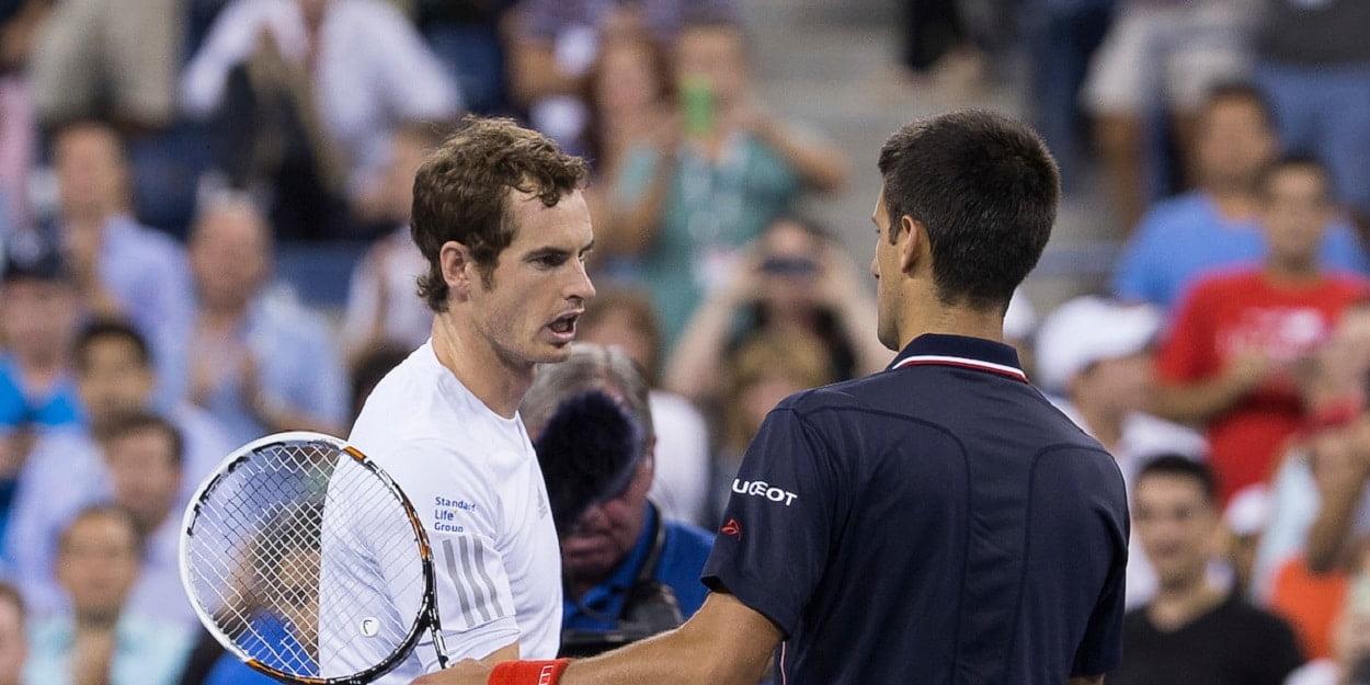 Murray Djokovic US Open