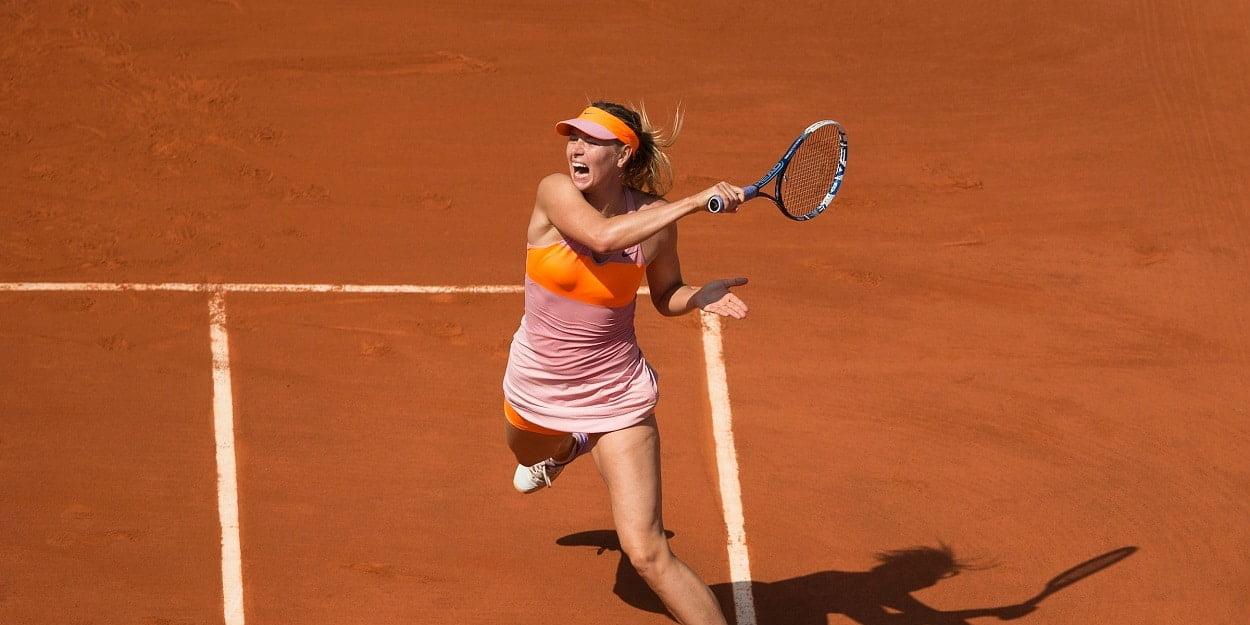 Maria Sharapova Clay