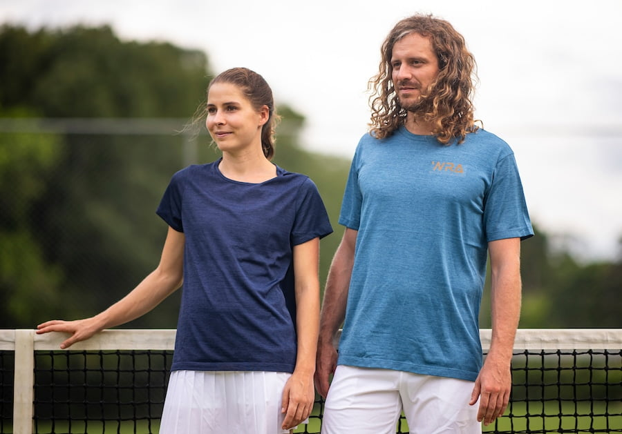 WRA mens and womens tennis clothing