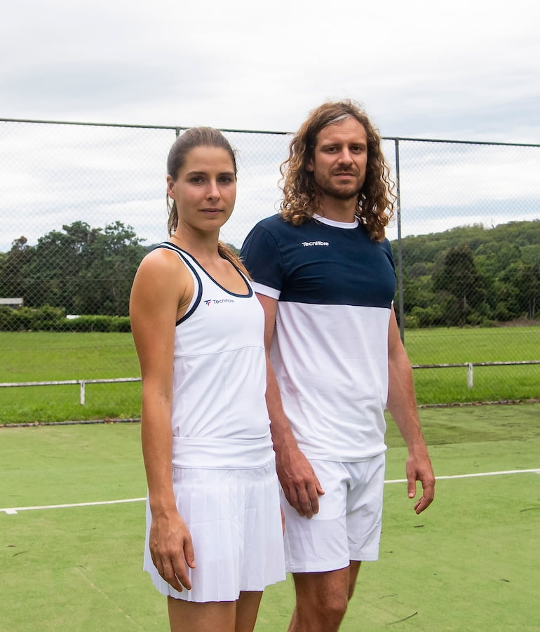 Tecnifibre mens and womens tennis clothing