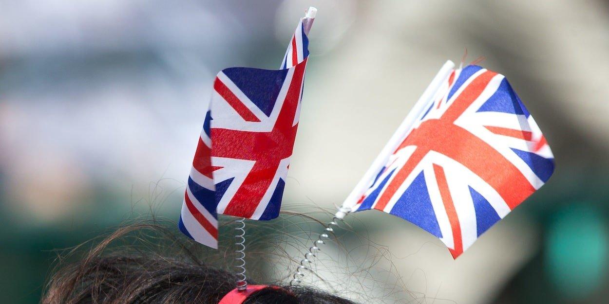 Union Jack Headband