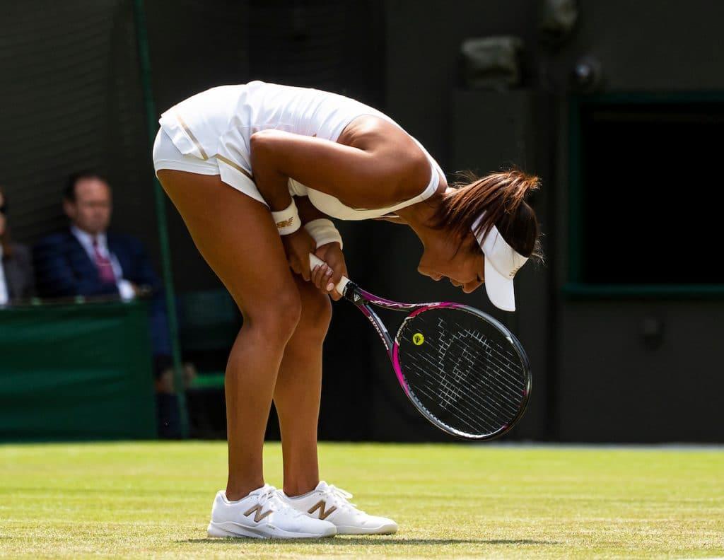 Heather Watson Wimbledon 2019