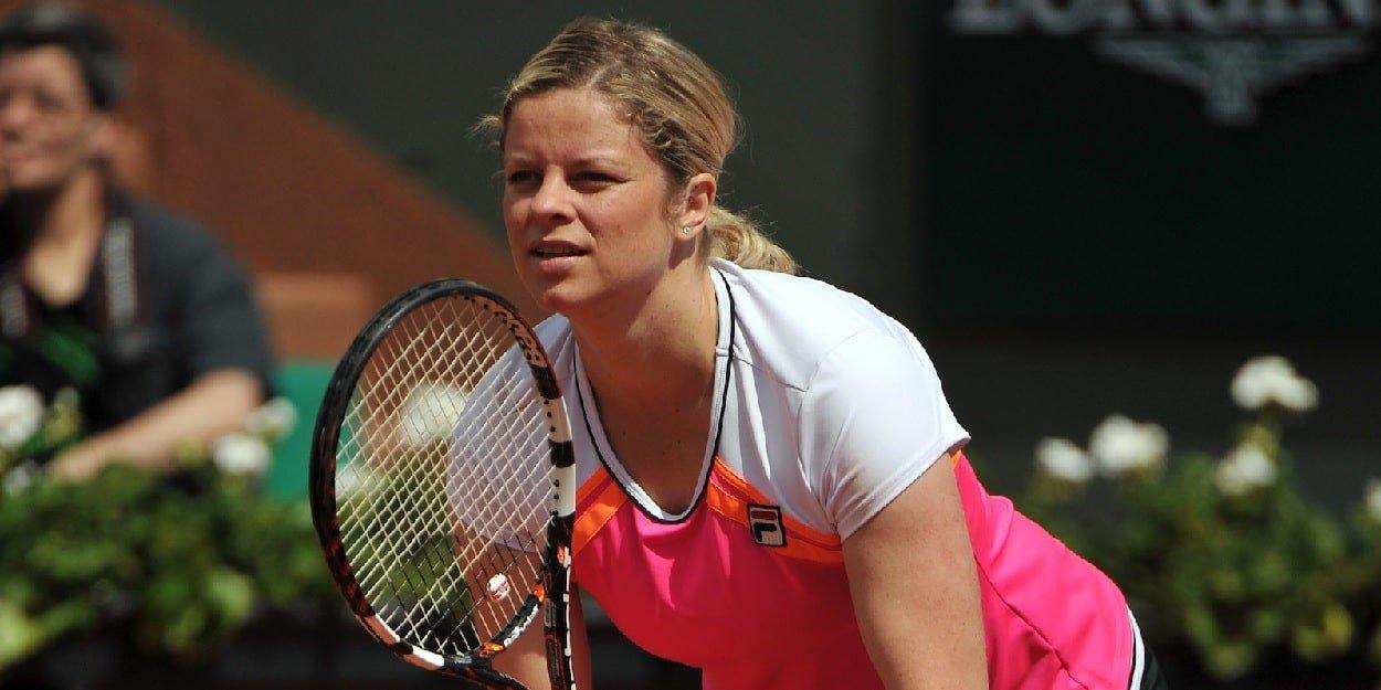 Kim Clijsters Return