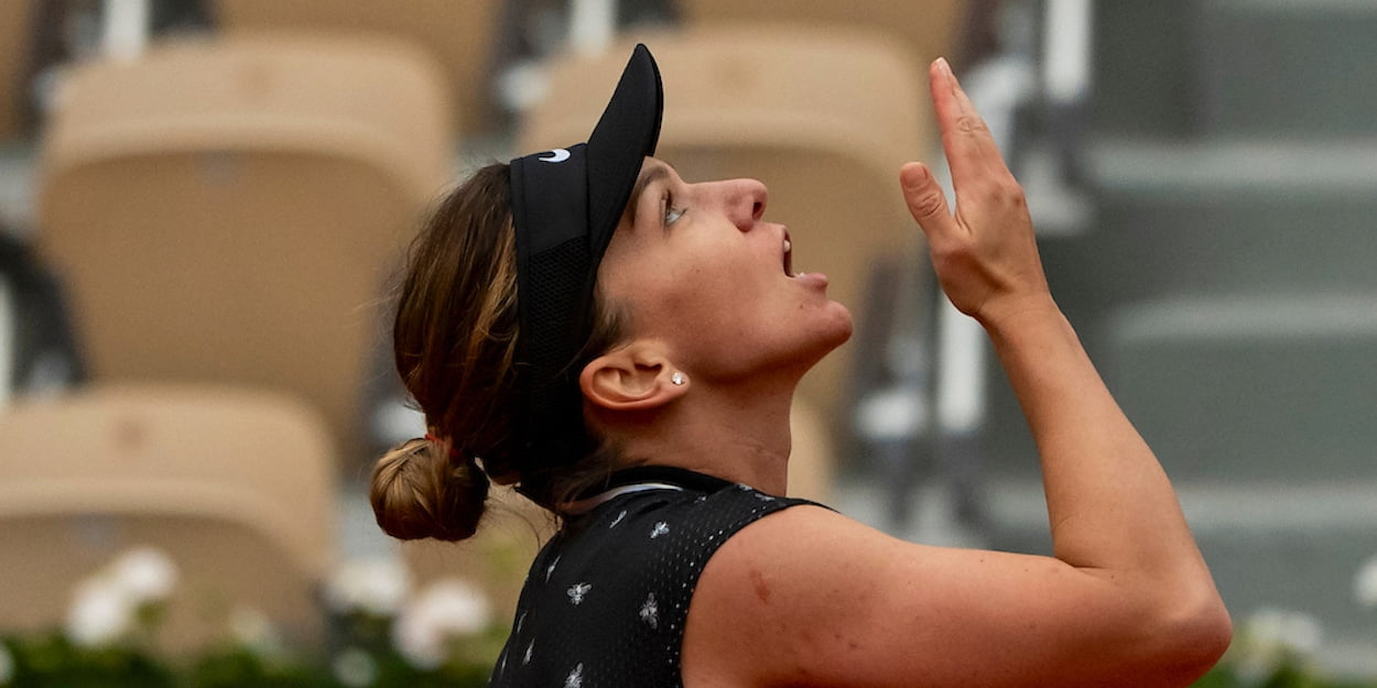 Simona Halep French Open 2019