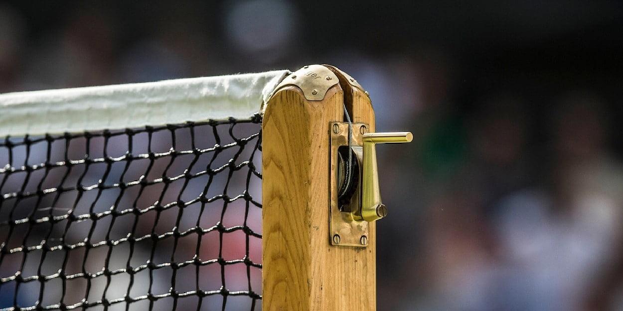 Wimbledon Net Post