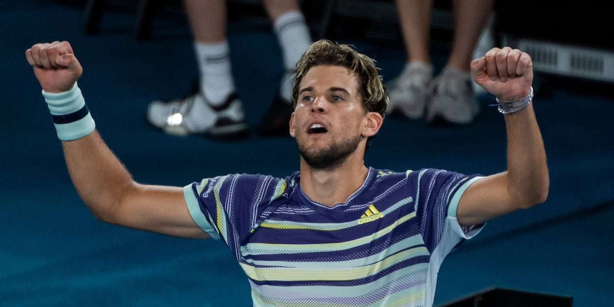 Dominic Thiem Australian Open 2020